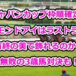 ジャパンカップ枠順確定!アーモンドアイはラストランを有終の美で飾れるのか?無敗の3歳馬対決も!