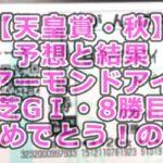 【天皇賞・秋】予想と結果~アーモンドアイ芝GⅠ・8勝目おめでとう!の夜~