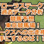 【フローラステークス】過去データ分析/競馬予想/東京競馬場!オークスへの出走権を手にするのは!?