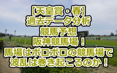 【天皇賞・春】過去データ分析/競馬予想/阪神競馬場!馬場はボロボロの競馬場で波乱は巻き起こるのか!